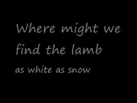 U2-White as Snow (Lyrics)