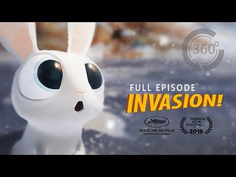 INVASION! | Animated 360 VR Movie [HD] | Ethan Hawke