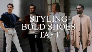 How to Style Bold Shoes Ft. Ta…
