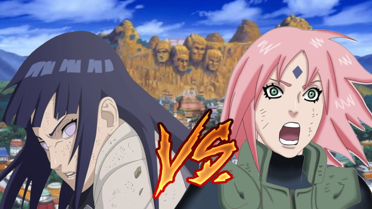 Girls Without Clothes Wallpaper Death Battle Hinata Vs Sakura Who Would Win Quick