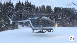 EC145 PGHM - SAG de Chamonix : Secours Mont d'Arbois / Megève