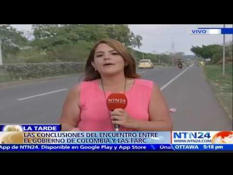 Concluye encuentro entre el Gobierno de Colombia y FARC