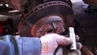 1998-2002 Honda Accord Front Ball Joint Replacment