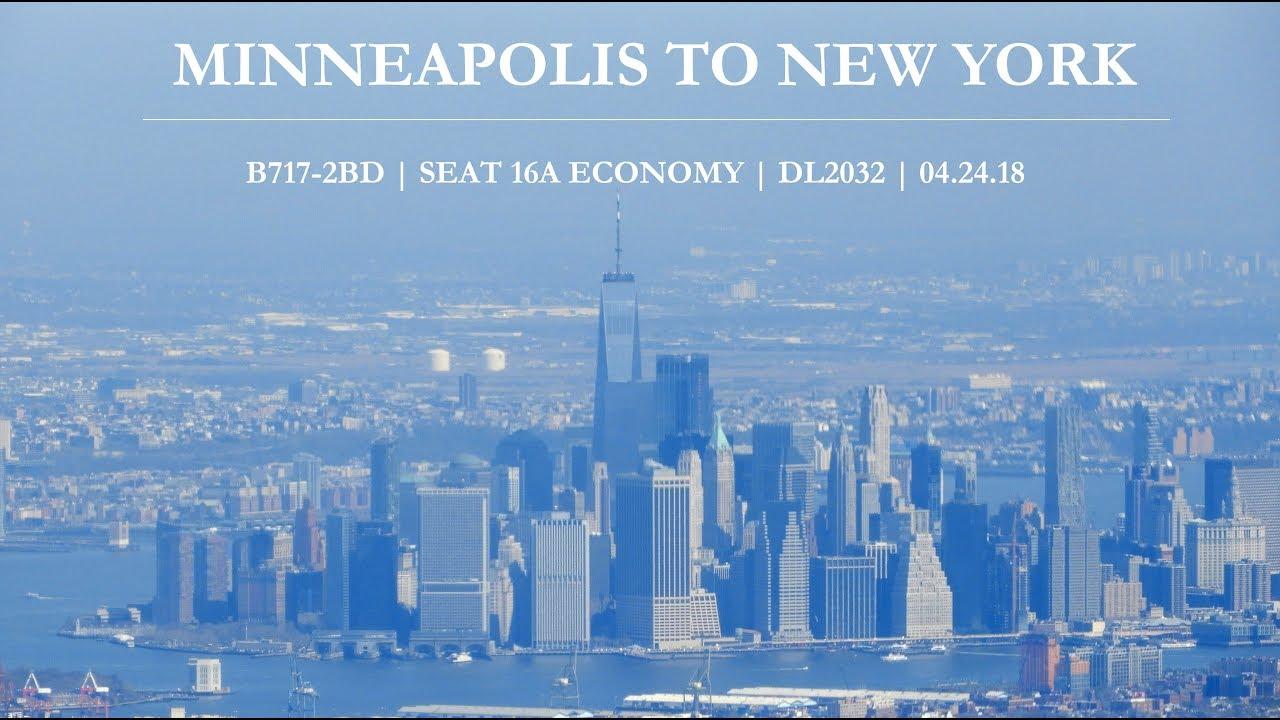 Minneapolis iz New Yorka