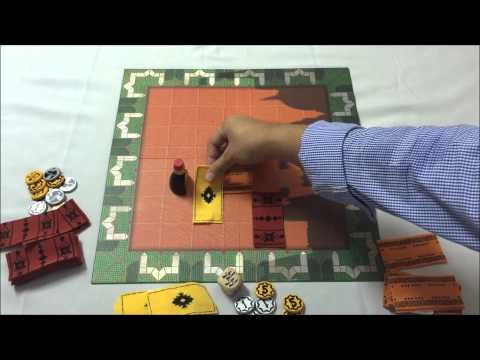 BOARD GAME BY. BOZO13020+.+ วิธีเล่นMARRAKECH