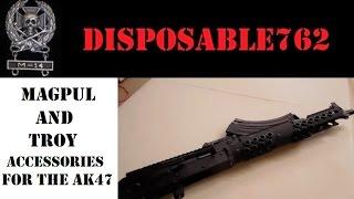 Ak47 Asscesories Magpul, Troy Industries And Parabellum Armament