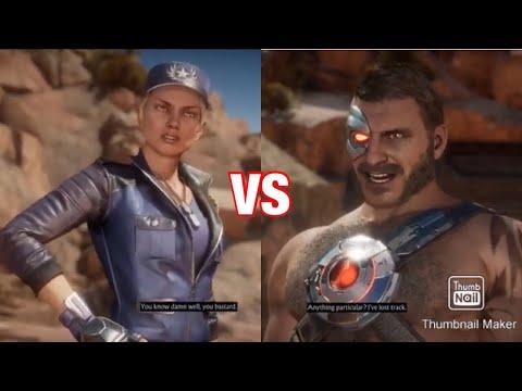 Sonya Blade vs Kano– Mortal Kombat 11