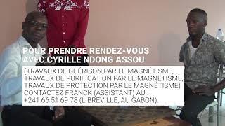 Moment d'expériences magnétiques (Cyrille Ndong Assou)