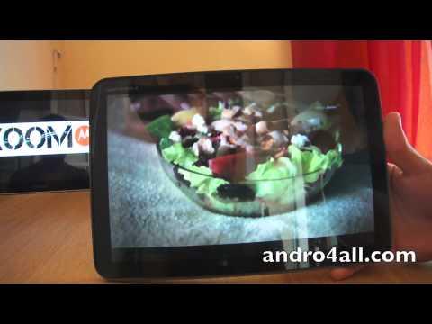 Videoreview Motorola XOOM [HD][ESPAÑOL]