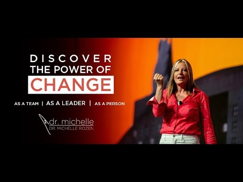 Discover the Power of CHANGE - Dr. Michelle Rozen - Sizzle Reel