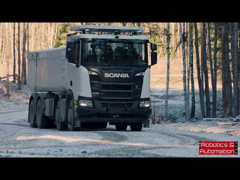 Scania and Rio Tinto test autonomous truck