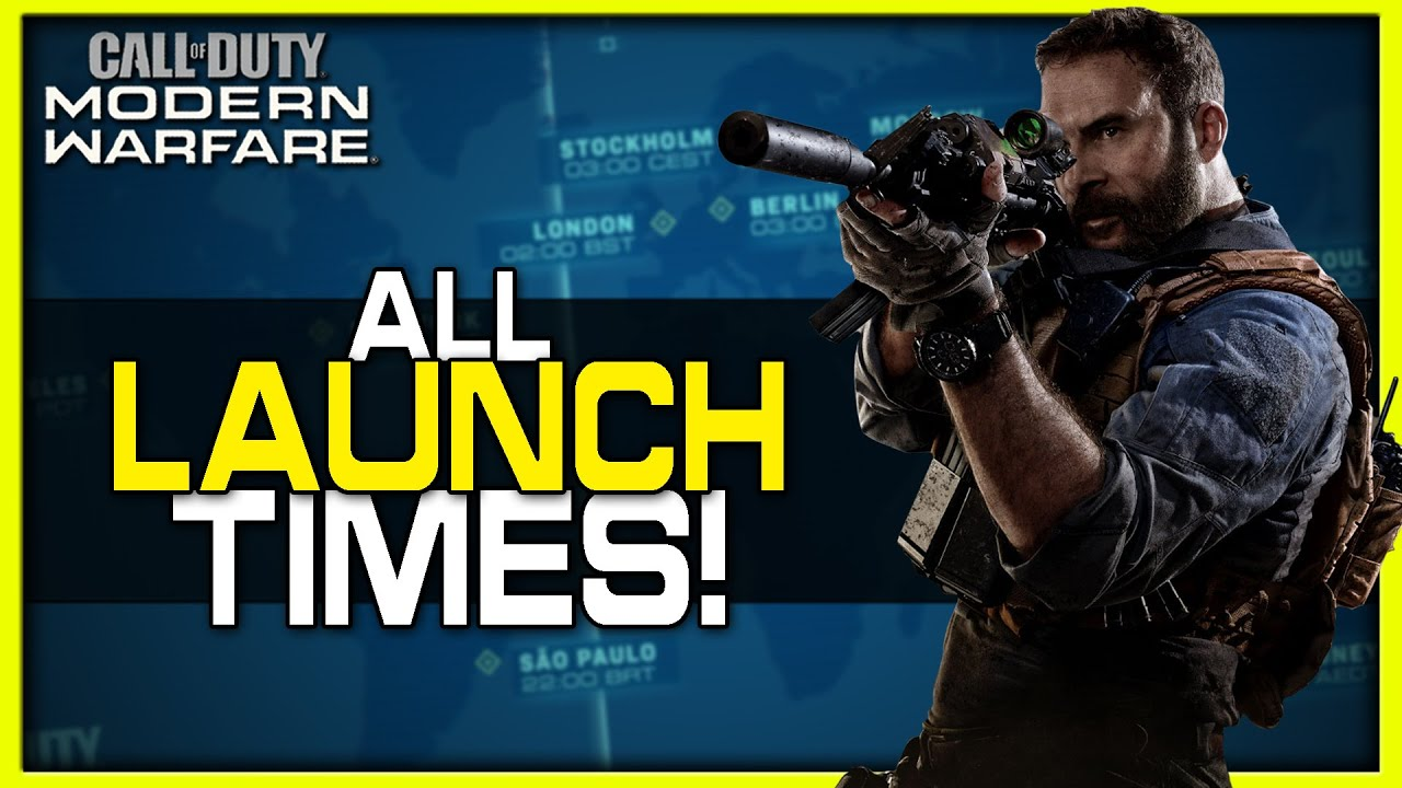 'Call Of Duty: Modern Warfare' Launch Time: Here's When You Can ...