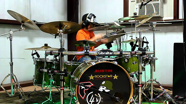 austin rios drum cover to waiting for the end by linkin park 10 years old