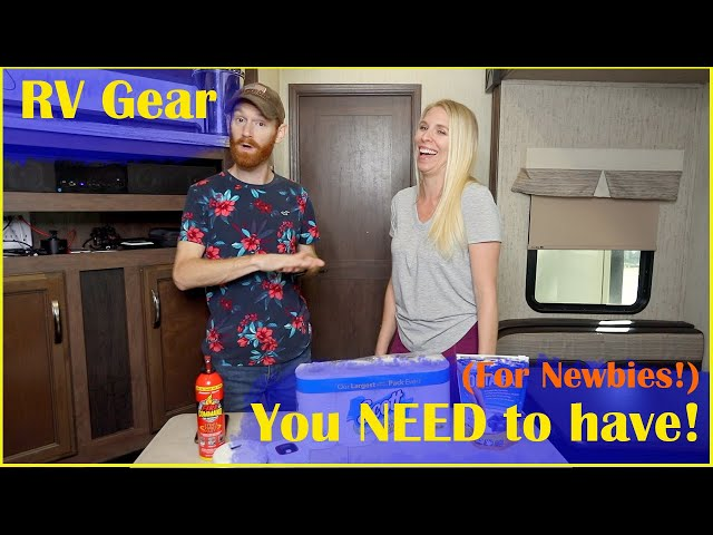 RV Gear You NEED to Have Before Your First Trip! | RV Living Tips