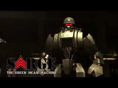 "Real Steel: Sarge ""The Green Mean Machine"""