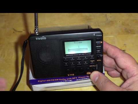 Full Review of the Tivdio V115 AM FM Shortwave portable receiver