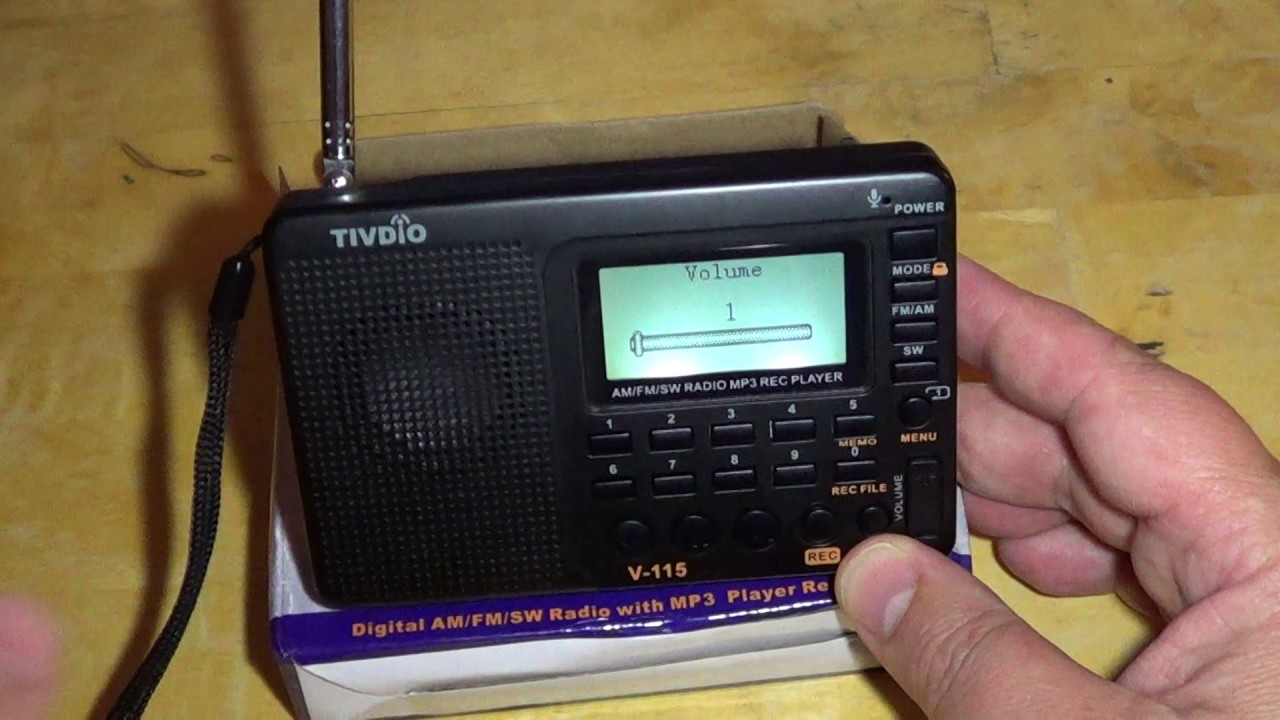 Full Review Of The Tivdio V115 Am Fm Shortwave Portable