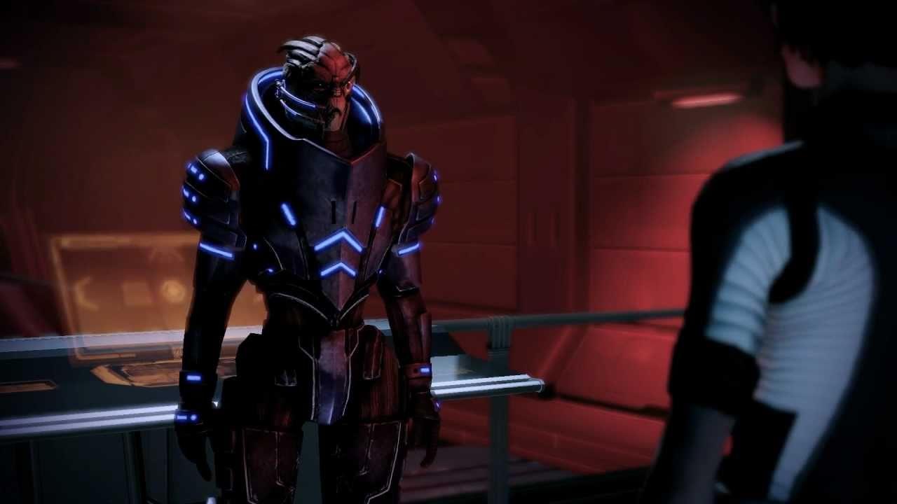 Mass Effect 2: Garrus Comments The Suicide Mission