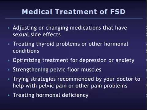 Ic and sexual dysfunction
