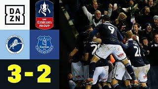 Zweitligist mit Last-Minute-Märchen: Millwall - Everton 3:2   FA Cup   Highlights