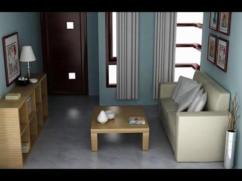 Interior Ruang Tamu Minimalis Type 36, Desain Interior