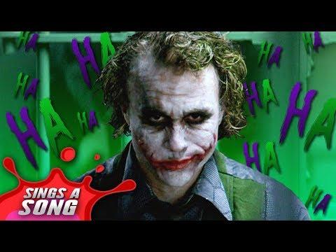 joker sings a song heath ledger batman dark knight lyrics
