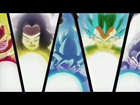 AMV - Dragon Ball Super - Heathens From Suicide Squad   Pride AMV