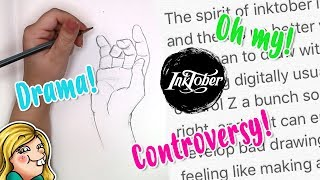 INKTOBER CONTROVERSY - My Thoughts