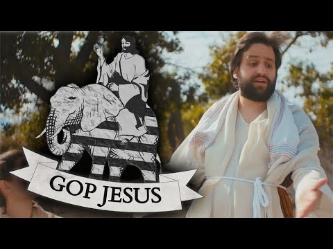 'GOP Jesus' Rewrites The Bible For Hypocritical Evangelicals Who Support Trump