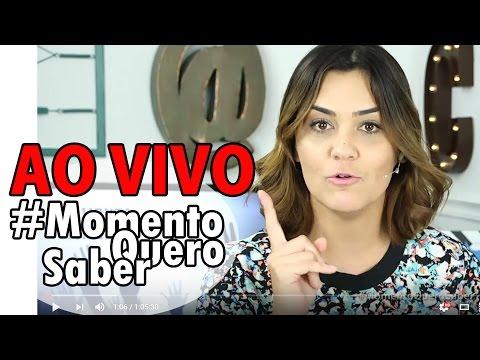 [AO VIVO] #MomentoQueroSaber 25/04/16 (COMPLETO) | JOSÉ DE ABREU, VEJA, RATINHO, POWER COUPLE