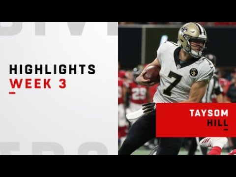 Top plays from Taysom Hill's versatile performance | Week 3