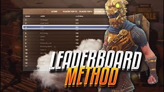 HOW TO GET ON THE FORTNITE LEADERBOARDS 😱 30 WINS A DAY 😱