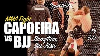 Capoeira vs BJJ Brazilian Jiu Jitsu - MMA Fight