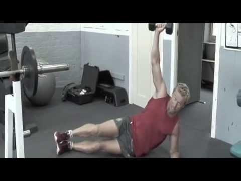 30 Minute Gym workout Shaun McManus AFL Footballer - eFit30