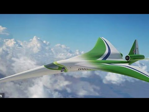 Wow! Son Of Concorde Is Coming. New Supersonic Passenger Jet Being Designed By NASA
