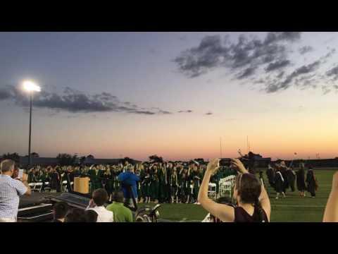 Viera High School 2016 graduation cap throw