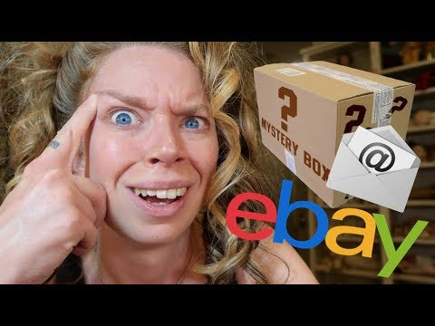 The Scammer MESSAGED Me Back? - Worst 90s Mystery Ebay Unboxing RESOLUTION
