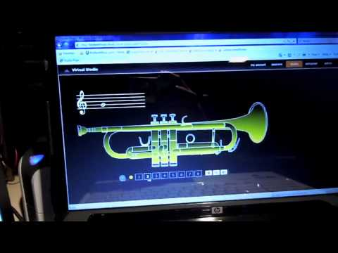 Virtual Trumpet - How to Play Introduction