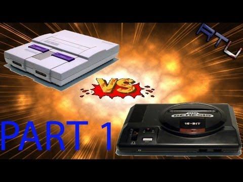 SNES Vs. Sega Genesis Pt.1 (My Story)