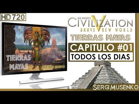 Civilization V BNW gameplay español Imperio Maya (Emperador) Capitulo 1