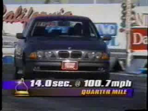 Motortrend Television E39 Bmw 540i Test Youtube