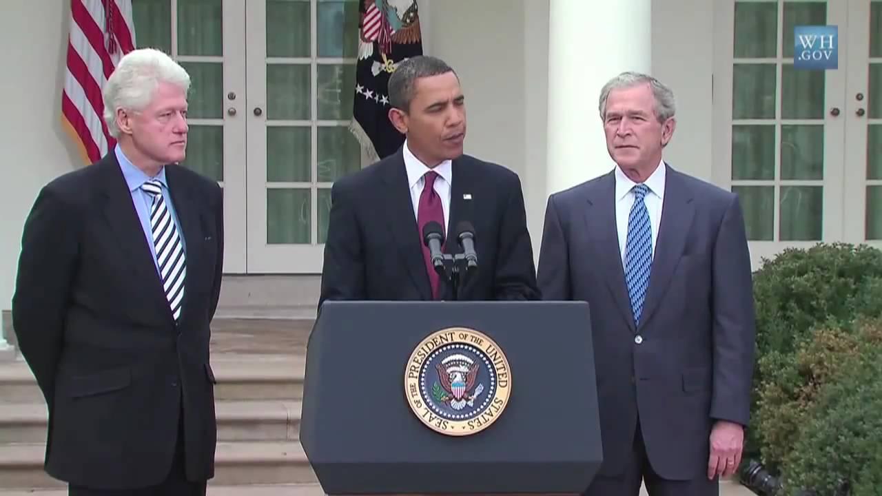 Obama, Bush, Clinton Volunteer to Publicly Get COVID-19 Vaccine [VIDEO]