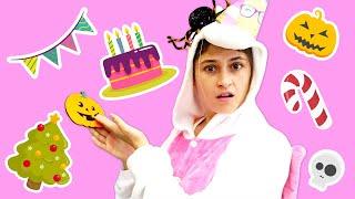 Веселые игры одевалки для девочек - Акула готовит сюрприз - С днем рождения, Милая Единорожка!