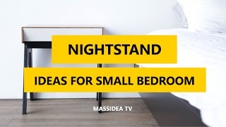 nightstand - the concrete top on the nightstands is 20″ by 20″ by 1″. how to make a nightstand | diy nightstand | concrete