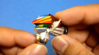 鋼鉄ジーグ(新型)雷鋼馬の試作品を変形させてみました!! 製品情報はこちら:http://evolution-toy.com/da/03jeeg01.html 11月発売予定!!神打登場!!