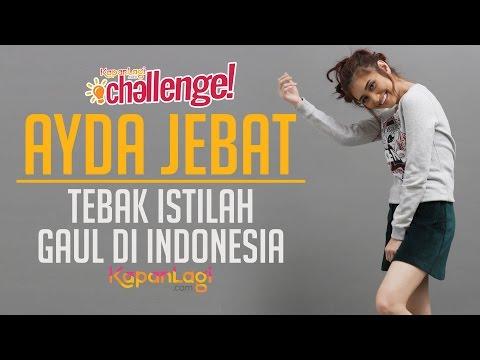 Ayda Jebat - Tebak Istilah Gaul Indonesia