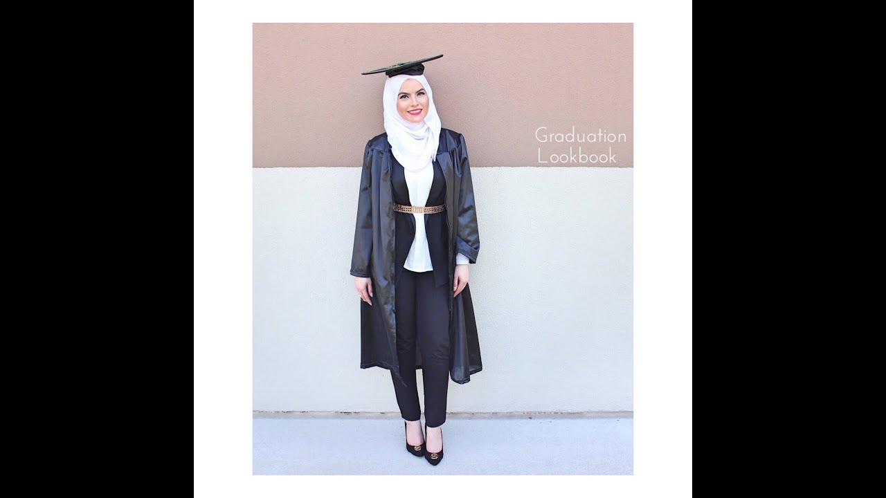 Graduation Lookbook with Omaya Zein - YouTube