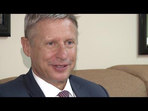 RALSTON: Jon talks to Libertarian nominee Gary Johnson