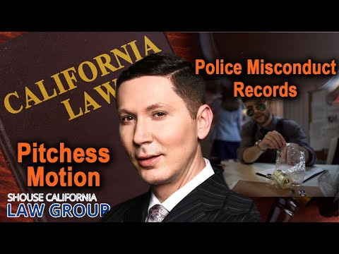 """Pitchess Motions"" (to get police misconduct records)"
