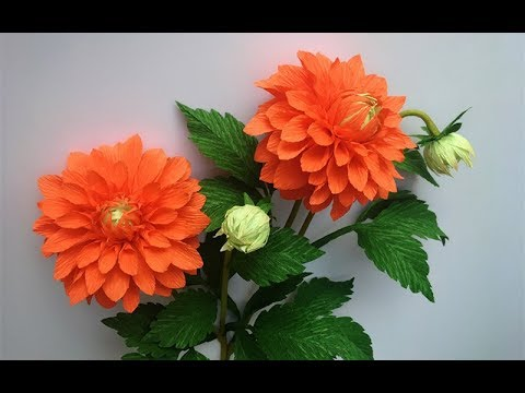 ultimate paper flower tutorial | dahlia paper flowers diy | Paper ... | 360x480